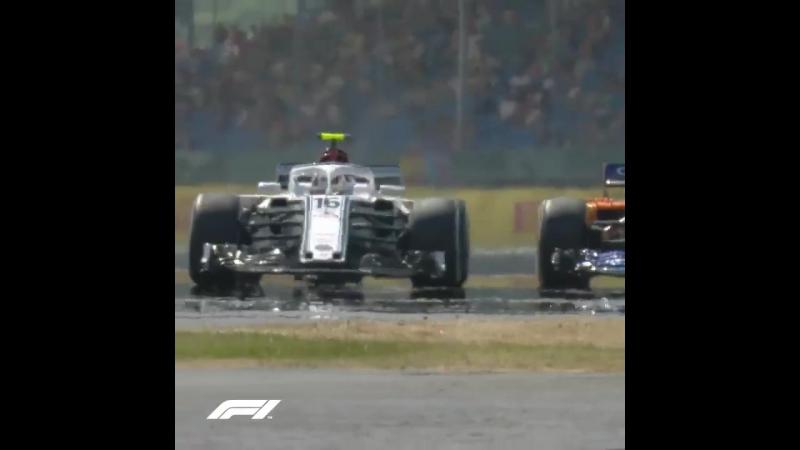 Гран При Великобритании: борьба Леклера и Алонсо во второй практике
