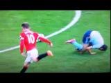 Rooney SHOCKING UMPIRING Red Card vs West Ham United ~ EPL Premier League 2014