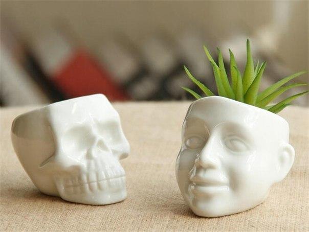Декоративные горшочки для растений