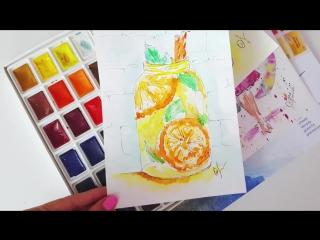 Бесплатный курс по скетчингу - Учимся рисовать вкусняшки (Подборка 2)