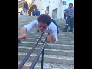 If u believe u can fly...u can..well almost. P.S. B careful of the friction on the pelvic girdle.#srkinstagyaan