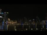 Ночное лазерное шоу в Сингапуре?? возле отеля Marina Bay Sands ?