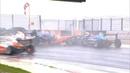 Italian Formula 4 Championship 2018. Race 2 Autodromo Internazionale del Mugello. Pile Up Red Flag