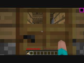 НУБ В 1 БЛОК ПОСТРОИЛ ДОМ В РАДУЖНОМ ЛАКИ БЛОКЕ В Майнкрафте! Minecraft Мультики Майнкрафт троллинг