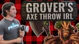 Are Throwing Axes a Viable Weapon in Real Life? | The Armory | Paladins