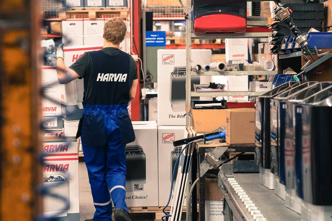 Компания HARVIA - оборудование для саун и бань, печи каменки и электрические печи для саун в Краснодаре