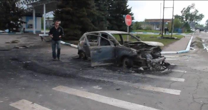 Семеновка (Украина) места где прошли бои 05.05.2014