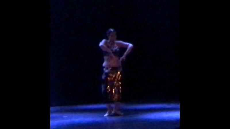 Josefine Wandel at Russian Tribal Fest 2018