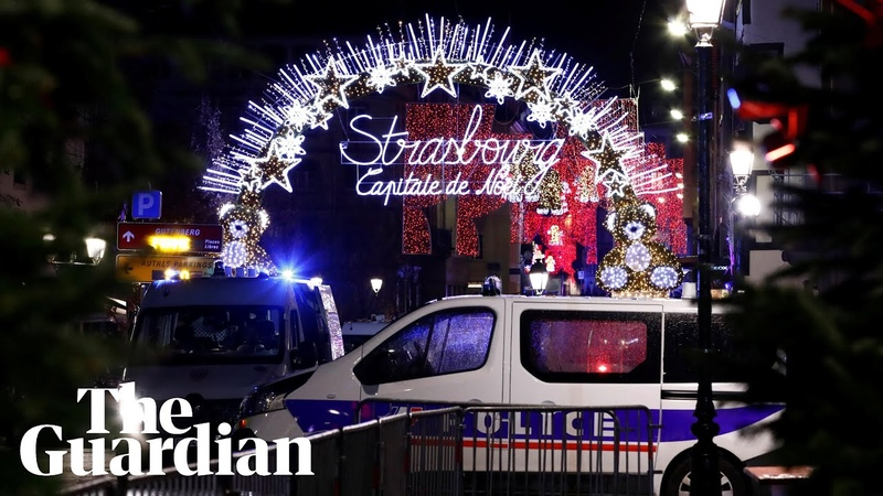 Gunman on the run after deadly shooting at Strasbourg's Christmas market