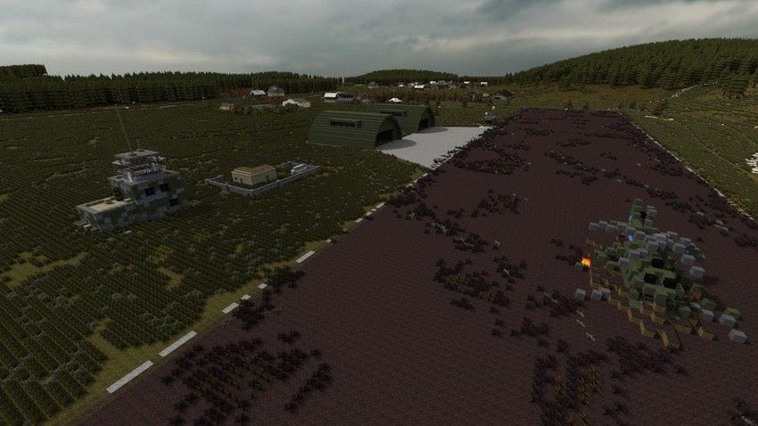 скачать Dayz карту для Minecraft - фото 4