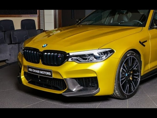 Perfect Bmw! - 2019 BMW M5 Competition M Performance Individual - AC Schnitzer parts