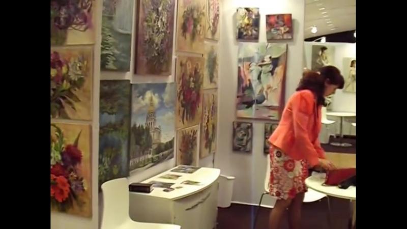 Людмила Болотская Art shopping 2014 Paris Carrousel du Louvre