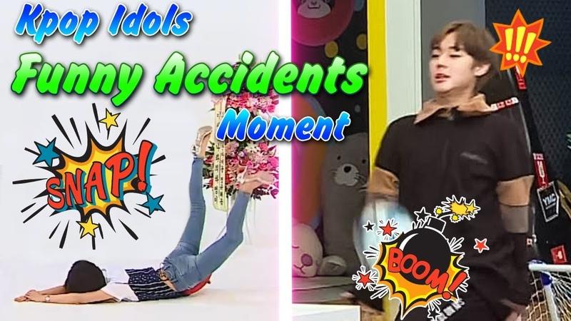 Kpop Idols Funny Accidents Moment FanClub Kpop