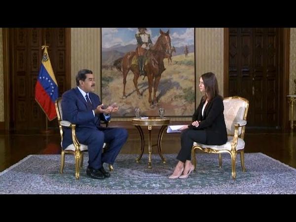 Николас Мадуро: «Трамп выкрутил им руки»
