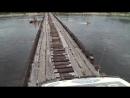 Worlds most dangerous road bridge. EXTREME