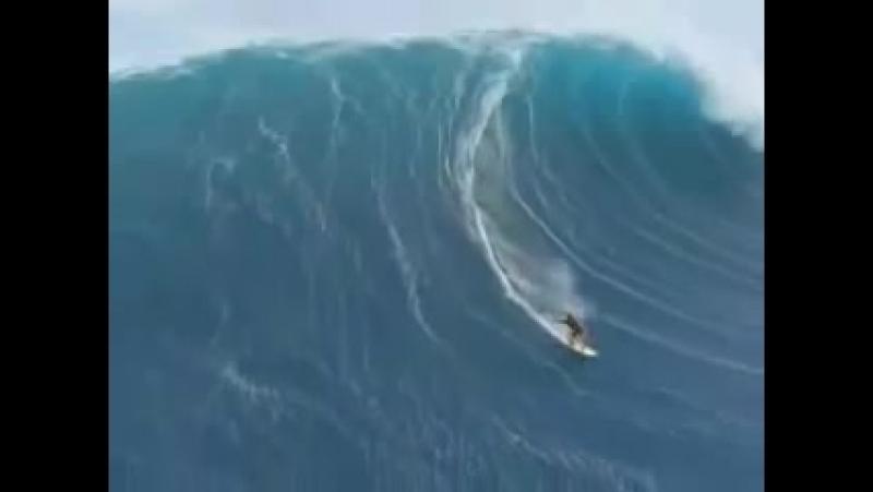 самая большая волна в мире.