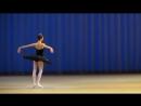 Анастасия Соболева - Вариация Одиллии из балета Лебединое озеро