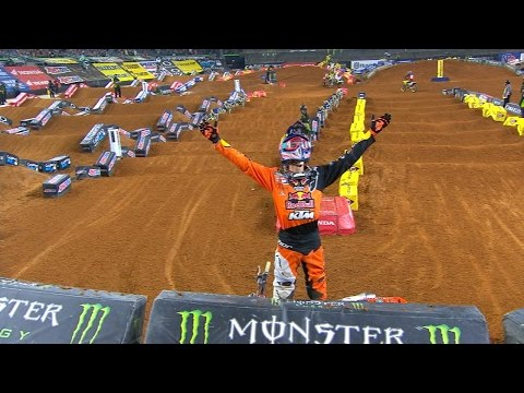 450 SX Arlington Highlights | 2017 Monster Energy Supercross
