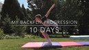 MY BACKFLIP PROGRESSION (10 DAYS)