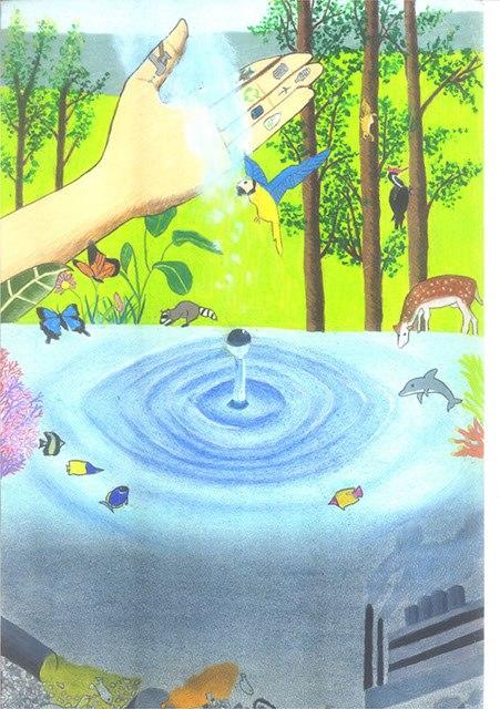 рисунки на тему вода:
