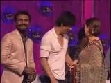 Madhuri Dixit Shahrukh Khan on Jhalak Dikhla Ja Set
