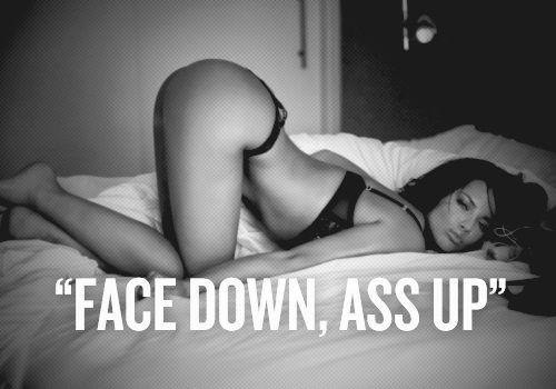 face down assup