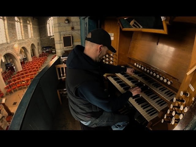 Interstellar First Step Hans Zimmer soundtrack - church Organ / piano cover epic
