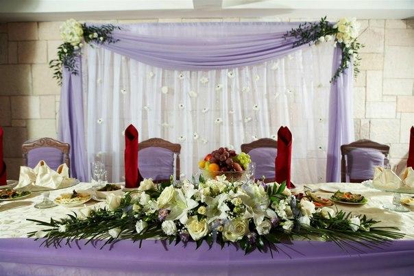 Декор цветы тканями