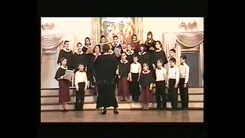 Рождественский концерт 10.01.2010 ретроспектива