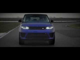 Range Rover Sport SVR Driving Dynamics   Land Rover USA