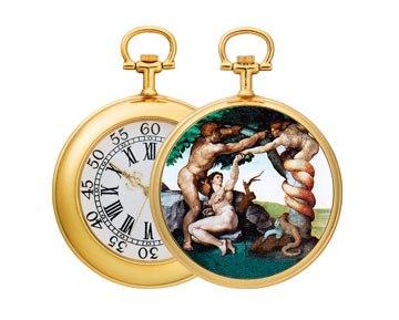 Карманные часы №8 - Часы-амулет