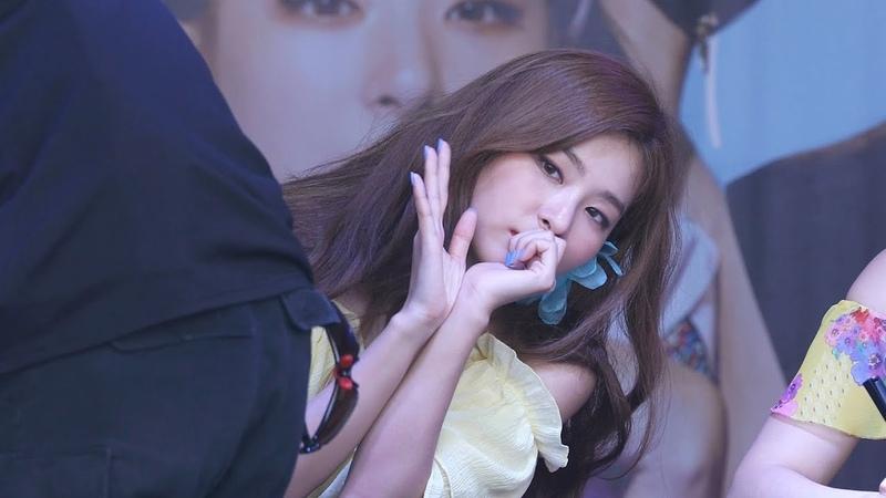 180812 팬들에게 인사해주는 레드벨벳 슬기 Red Velvet Seulgi 캐리비안베이팬사인회 4K 직캠 b