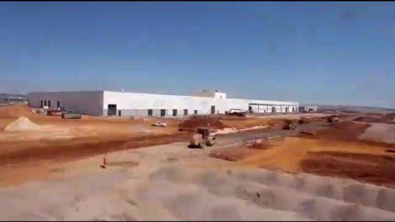 Строительство завода DAF в Бразилии