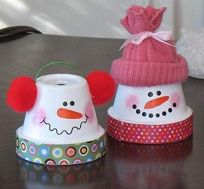 снеговик своими руками из подручных материалов