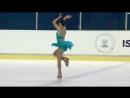 Tomoe Kawabata (JPN) _ Ladies Short Program _ Ljubljana 2018