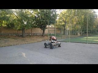 Владимир Бабушкин. Фермера по 120 кг 40 метров.mp4