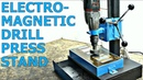 ELECTROMAGNETIC Drill Press Stand PLANS