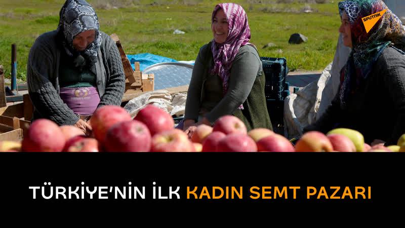 Türkiye'nin ilk kadın semt pazarı: Tüm zorluklara rağmen çalışıyorlar