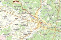 """""""Сосновый бор """" вид со спутника.  От Брянска 35 км. Отдаленность от промышленной зоны позволила сохранить уникальную..."""