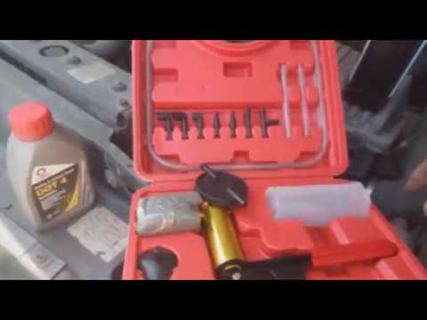 Land Rover Discovery Замена колодок передзад, тормозные шланги и тормозная жидкость
