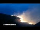 Ил 76 тушит пожар под Медногорском в Оренбуржье
