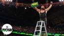 WBSOFG Braun Strowman wins the Men's Money in the Bank Ladder Match WWE Now