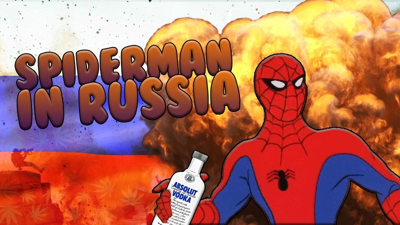 Spiderman in Russia!! - Funniest vine ever