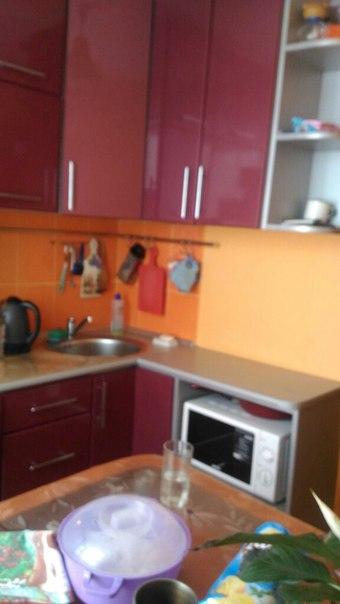 Кухня, встроенная плита, вытяжка