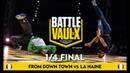 From Down Town VS La Haine Quater-Final Battle De Vaulx International 2019