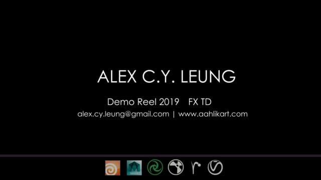 Alex Leung FxTD DemoReel 2019