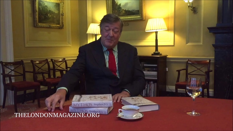 Stephen Fry on the Relevance of Greek Myths Today - The London Magazine pt.2
