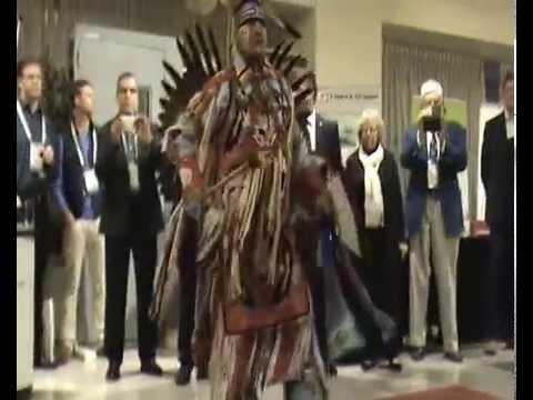 Cree war dance