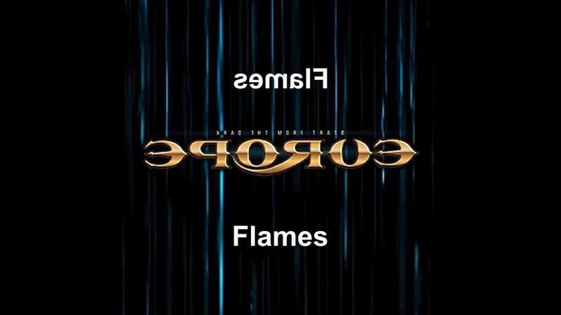 Europe - Flames (Reversed)