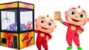 Five Little Babies Playing Claw Machine Nursery Rhymes Collection Kids Songs Baby Rhymes